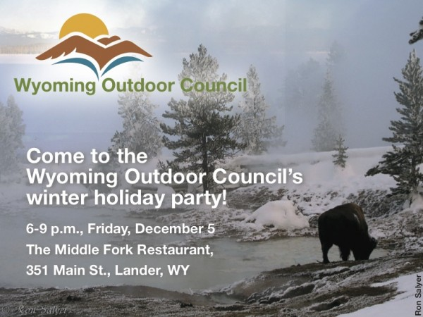 Join us Friday for our holiday party!