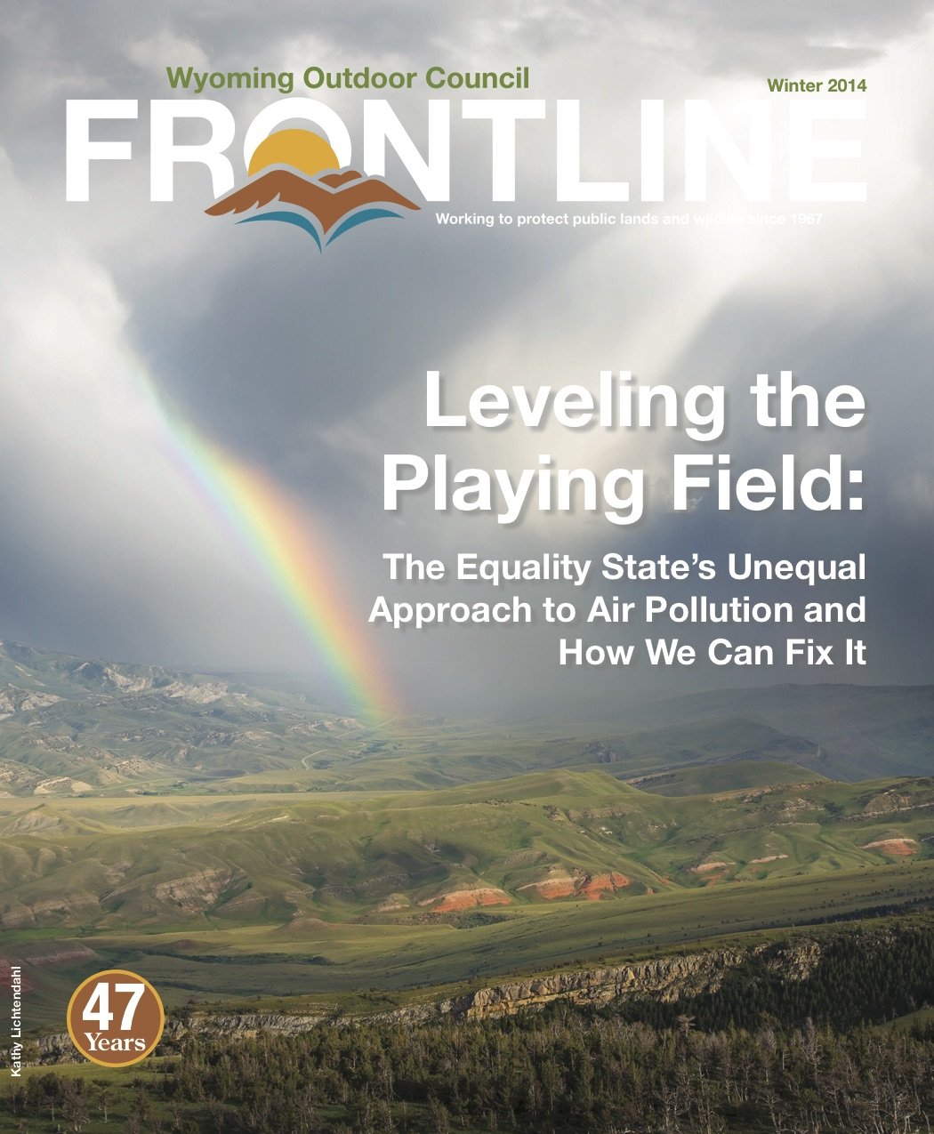 Leveling the Playing Field: The Equality State's Unequal Approach to Air Pollution and How We Can Fix It