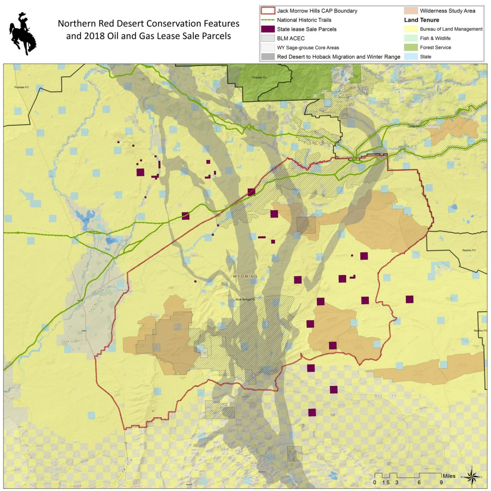 Oil And Gas Lease Sales Threaten Wyoming S Red Desert Wyoming