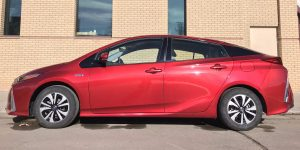 Outdoor Council member donates plug-in hybrid to spark conversation about fuel efficiency